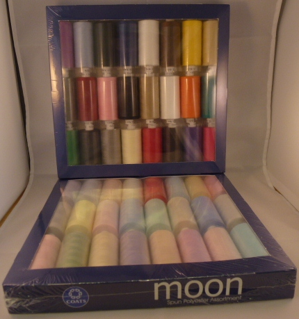 Assorted Moon 1000 Yard Thread