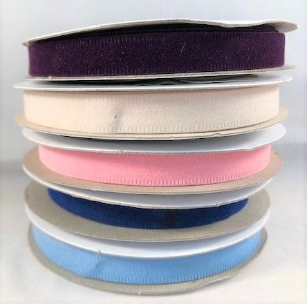Clearance Velvet Ribbon 10mm
