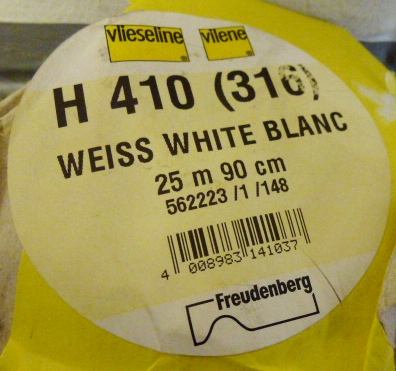 Vilene H410/316 White Heavy 90cm Iron On Ultra softOUT OF STOCK